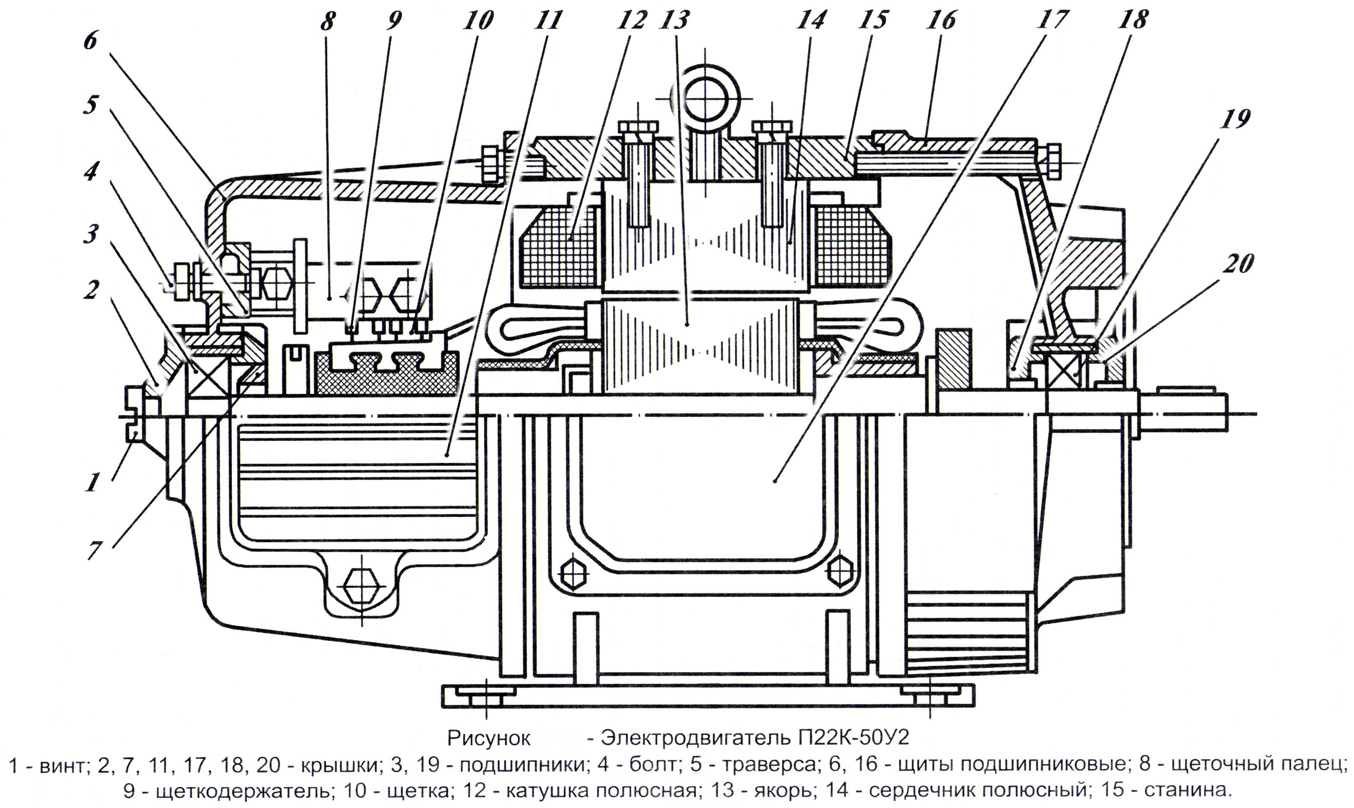 схема подключения 3х фазного дв с фазным ротором